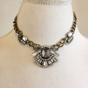 Cookie Lee Statement Necklace Gold Chain